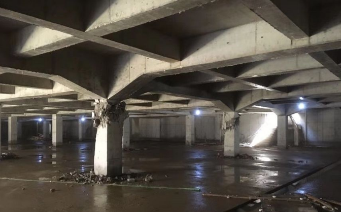 雨季地下室柱子断了十几根!都是浮力惹的祸?-建智汇
